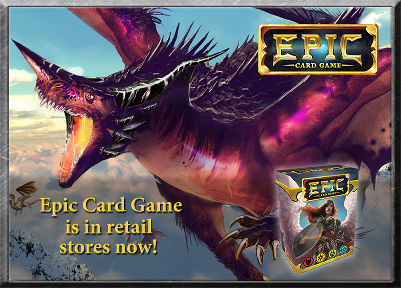 Epic Card Game Has Arrived