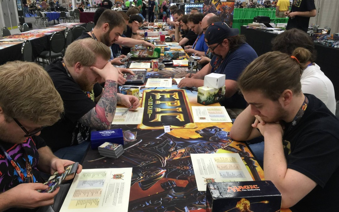 Play Epic and Star Realms at Gen Con 2016!