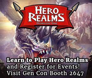 Hero Realms Gen Con