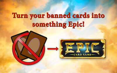 Epic Card Game Banned and Restricted Promotion
