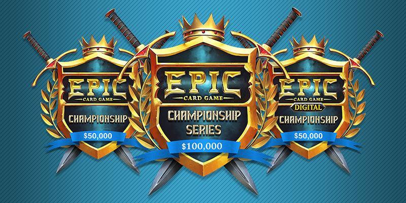 Epic Card Game Organized Play Announcement: Introducing the Epic Championship Series!